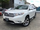 Used 2013 Toyota Highlander V6 Limited (A5) for sale in Vancouver, BC