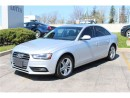 Used 2014 Audi A4 NAVIGATION for sale in Oakville, ON