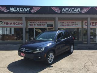 Used 2013 Volkswagen Tiguan 2.0 TSI COMFORTLINE AUTO AWD LEATHER PANO/ROOF 81K for sale in North York, ON