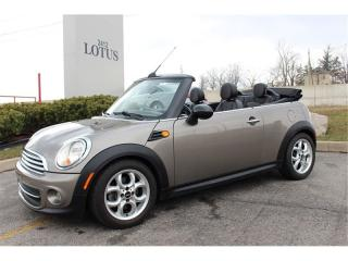 Used 2011 MINI Cooper Convertible for sale in Oakville, ON