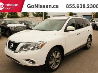 Used 2014 Nissan Pathfinder Platinum 4dr 4x4 for sale in Edmonton, AB