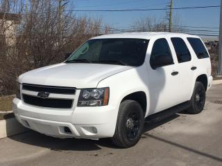 Used 2011 Chevrolet Tahoe Police Vehicle **ACCIDENT FREE** for sale in Brampton, ON