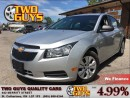Used 2012 Chevrolet Cruze LS NICE LOW KMS!! for sale in St Catharines, ON