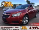 Used 2012 Chevrolet Cruze LT Turbo CRUISE CONTROL | for sale in St Catharines, ON