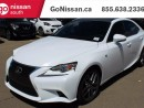 Used 2016 Lexus IS 200t Sunroof, heated and ventilated seats, less than 10000 km's!! for sale in Edmonton, AB