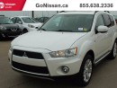Used 2013 Mitsubishi Outlander 7 PASSENGER, LEATHER, NAVIGATION!! for sale in Edmonton, AB