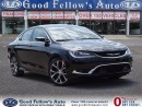 Used 2016 Chrysler 200 C-SERIES, LEATHER, MOONROOF, NAVIGATION, CAMERA for sale in North York, ON