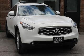 Used 2010 Infiniti FX35 Premium AWD *ONTARIO CAR, NO ACCIDENTS, 88KM* for sale in Scarborough, ON