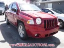Used 2010 Jeep Compass Sport 4D Utility 4WD for sale in Calgary, AB