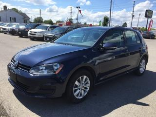 Used 2016 Volkswagen GOLF TSI S * ONE OWNER * REAR CAM * SATELLITE RADIO * HEATED SEATS for sale in London, ON