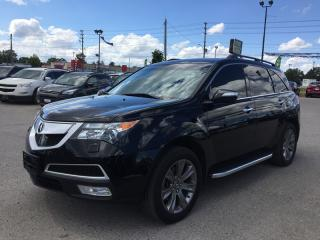 Used 2012 Acura MDX ADVANCE AND ENTMT PACKAGES * AWD * LEATHER * NAV * REAR CAM * SUNROOF * BLUETOOTH for sale in London, ON