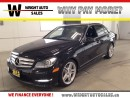Used 2013 Mercedes-Benz C-Class NAVIGATION|LEATHER|SUNROOF|95,217 KMS for sale in Cambridge, ON