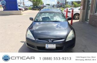 Used 2004 Honda Accord Cpe EX for sale in Winnipeg, MB