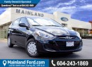 Used 2013 Hyundai Accent LOCAL, NO ACCIDENTS for sale in Surrey, BC