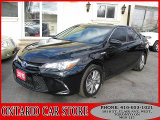 Used 2015 Toyota Camry HYBRID SE !!!1 OWNER NO ACCIDENTS!!! for sale in Toronto, ON