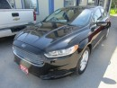 Used 2014 Ford Fusion 'GREAT KM'S' POWER EQUIPPED SE MODEL 5 PASSENGER 2.5L - DOHC.. SYNC TECHNOLOGY.. BLUETOOTH SYSTEM.. for sale in Bradford, ON