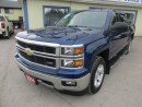 Used 2014 Chevrolet Silverado 1500 LOADED LT - Z71 EDITION 6 PASSENGER 5.3L - V8.. 4X4.. CREW.. SHORTY.. BACK-UP CAMERA.. CD/AUX/USB INPUT.. BLUETOOTH.. for sale in Bradford, ON