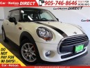 Used 2016 MINI Cooper Cooper| LEATHER| SUNROOF| HEATED SEATS| for sale in Burlington, ON