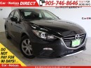 Used 2014 Mazda MAZDA3 GX-SKY| PUSH START| WE WANT YOUR TRADE| for sale in Burlington, ON