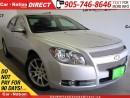 Used 2009 Chevrolet Malibu LTZ| LOCAL TRADE| LEATHER| SUNROOF| for sale in Burlington, ON