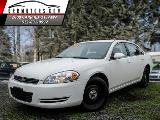 Used 2008 Chevrolet Impala police for sale in Stittsville, ON