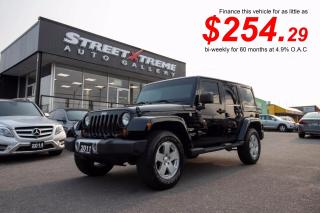 Used 2011 Jeep Wrangler Unlimited Sahara | LEATHER | NAVI | ACCIDENT FREE for sale in Markham, ON