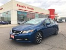 Used 2015 Honda Civic Touring for sale in Brampton, ON