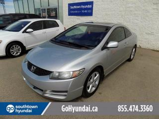 Used 2009 Honda Civic Sunroof/Coupe for sale in Edmonton, AB