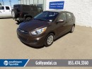 Used 2015 Hyundai Accent Heated Seats/Bluetooth/USB for sale in Edmonton, AB