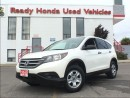 Used 2013 Honda CR-V LX - Rear Camera - Heated seats for sale in Mississauga, ON