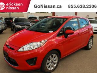 Used 2012 Ford Fiesta SE, Hatchback, Power Windows, Remote Entry, Great Value for sale in Edmonton, AB