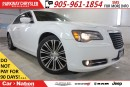 Used 2013 Chrysler 300 S| LEATHER| NAV| BEATS AUDIO| SUNROOF & MORE| for sale in Mississauga, ON
