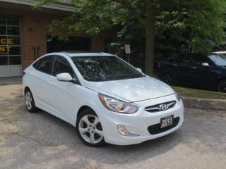 Used 2013 Hyundai Accent GLS,one owner,low km+WINTER TIRES,CERT for sale in Concord, ON