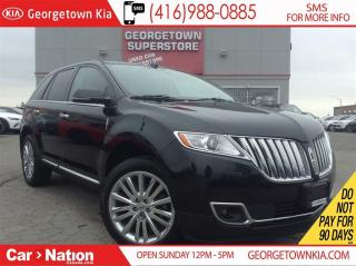 Used 2014 Lincoln MKX NAVI | LEATHER | PANO ROOF | HEATED/COOLED SEATS for sale in Georgetown, ON