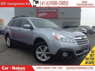 Used 2014 Subaru Outback SUNROOF | AWD | HEATED SEATS | CLEAN CAR POOF | for sale in Georgetown, ON