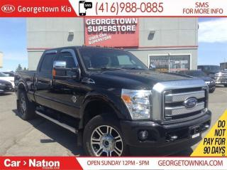Used 2016 Ford F-350 PLATINUM | DIESEL | NAVI | CREW | 4X4 | LEATHER for sale in Georgetown, ON