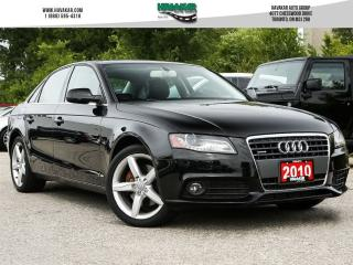 Used 2010 Audi A4 2.0T PREMIUM for sale in North York, ON