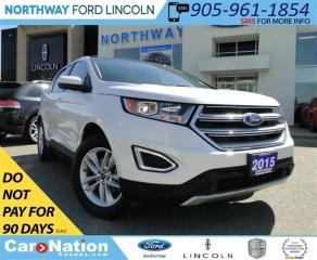 Used 2015 Ford Edge SEL | PANO ROOF | REAR CAM | HEATED SEATS | for sale in Brantford, ON
