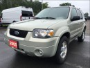 Used 2005 Ford Escape Limited - Sunroof - Heated Leather for sale in Norwood, ON