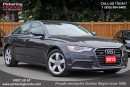 Used 2013 Audi A6 2.0T LEATHER SUNROOF NAVI for sale in Pickering, ON