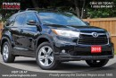 Used 2015 Toyota Highlander Limited LEATHER SUNROOF REAR CAMERA for sale in Pickering, ON