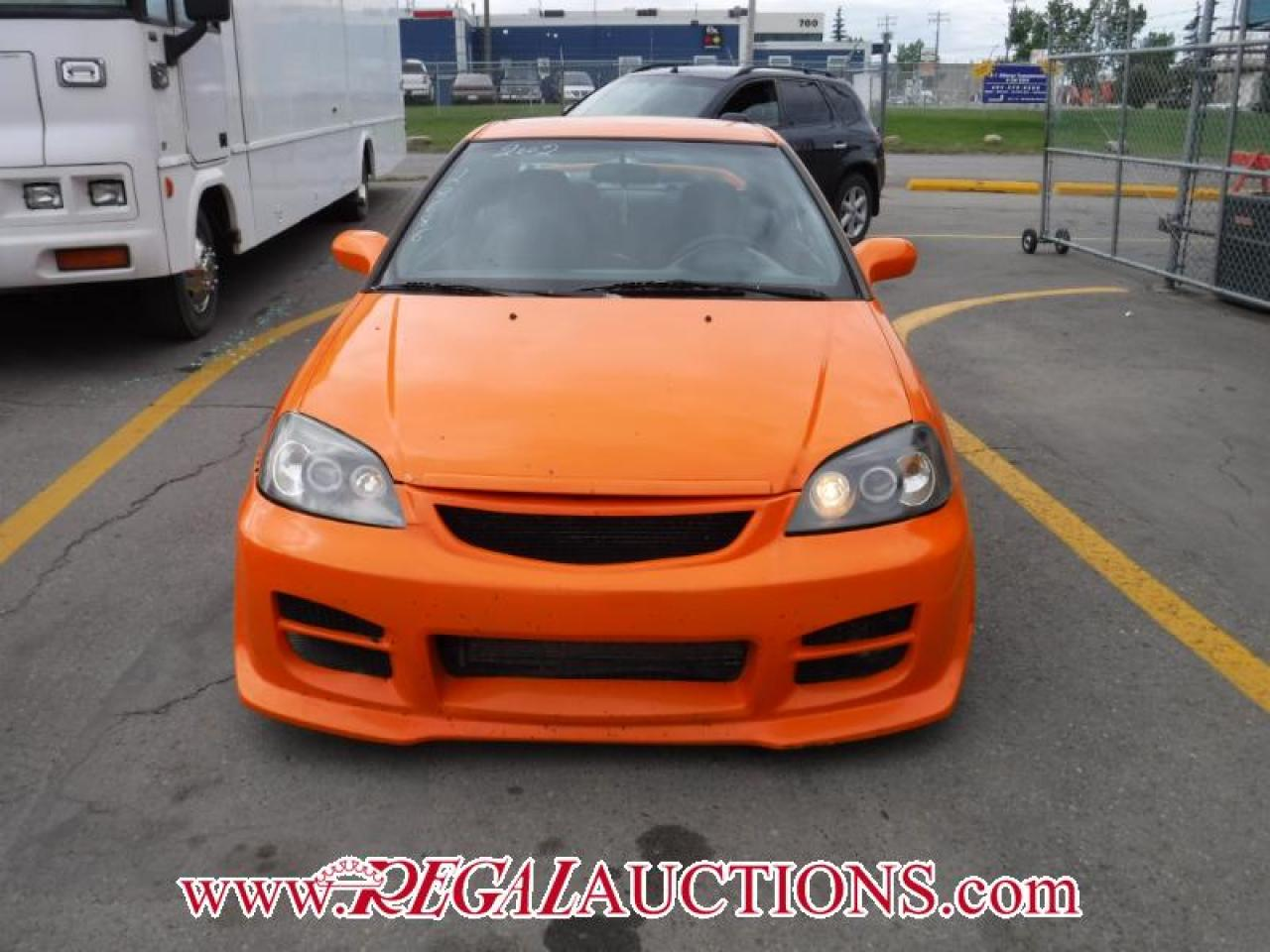 Photo of Orange 2002 Honda Civic