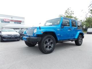 Used 2016 Jeep Wrangler Unlimited Sahara for sale in West Kelowna, BC