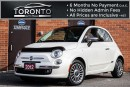 Used 2012 Fiat 500 LOUNGE+SUNROOF+LEATHER+BOSE SOUND for sale in North York, ON