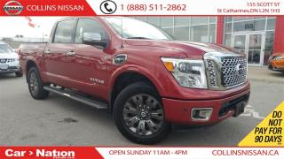 Used 2017 Nissan Titan Platinum Reserve | LOW KMS | NAV |LEATHER | for sale in St Catharines, ON