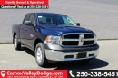 New 2017 Dodge Ram 1500 ST 4X4, KEYLESS ENTRY, CRUISE CONTROL, A/C for sale in Courtenay, BC