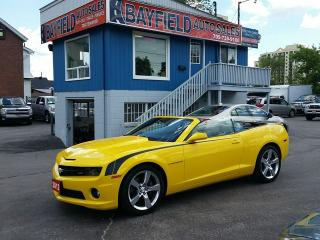 Used 2012 Chevrolet Camaro 2SS Convertible **V8/Auto/Only 25k!** for sale in Barrie, ON