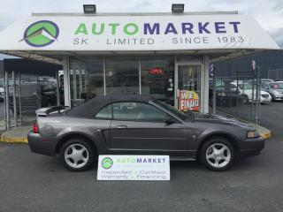 Used 2003 Ford Mustang Deluxe Convertible AUTO V6 WARRANTY! for sale in Langley, BC