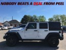 Used 2015 Jeep Wrangler Unlimited Sport**WILLYS 4X4**RUBICON WHEELS**ROCK RAILS** for sale in Mississauga, ON
