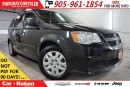 Used 2014 Dodge Grand Caravan SE/CVP| 1-OWNER| DUAL CLIMATE| TAILGATE SEATS| for sale in Mississauga, ON